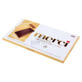 Շոկոլադե սալիկ «Storck Merci» սուրճ, սերուցք 100գ