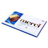 Շոկոլադե սալիկ «Merci» կաթնային 100գ