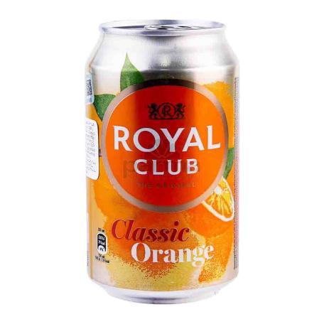 Զովացուցիչ ըմպելիք «Royal Club Classic Orange» 330մլ