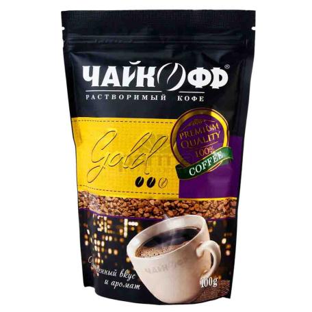 Սուրճ լուծվող «Чайкофф Gold» 100գ