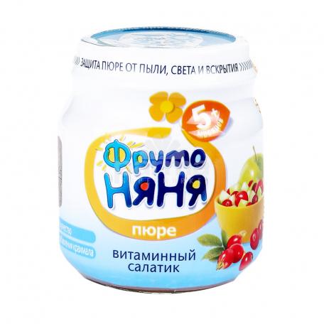 Խյուս «Фруто Няня» վիտամինային աղցան 5+ 100գ