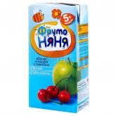 Բնական հյութ «Фруто Няня» բալ, խնձոր 5+ 200մլ