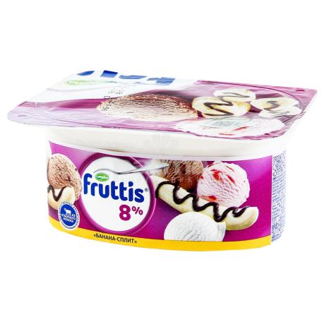 Յոգուրտ «Campina Fruttis» դեղձ, բանան, պինակոլադա 8% 115գ