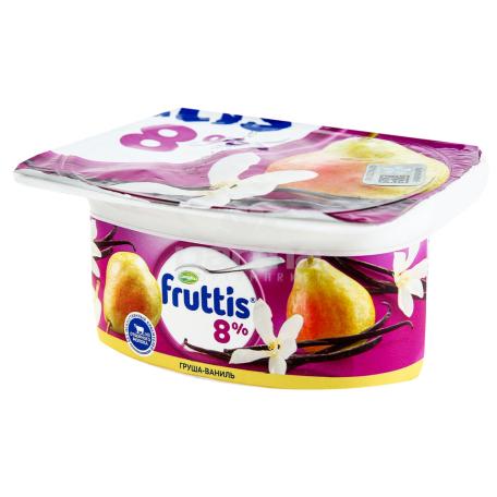Յոգուրտ «Campina Fruttis» տանձ, վանիլ 8% 115գ