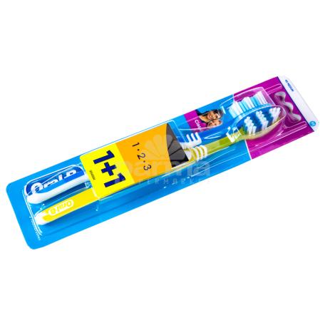 Ատամի խոզանակ «Oral-B 1+1 Classic»