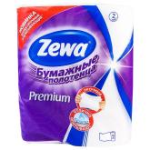 Թղթե սրբիչ «Zewa Premium» 2 հատ