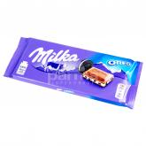 Շոկոլադե սալիկ «Milka Oreo» թխվածքաբլիթի կտորներով 100գ