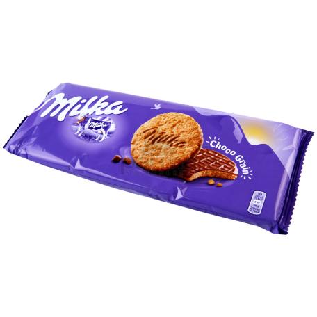 Թխվածքաբլիթ «Milka Choco Grains» շոկոլադե 126գ