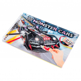 Ներկիր ինքդ «Monster Cars Pocket»