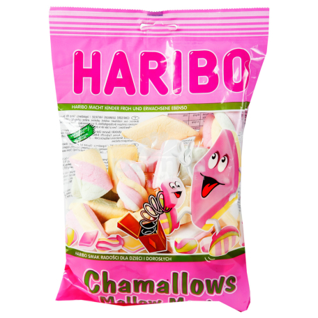 Պաստեղներ «Haribo Chamallows» 175գ