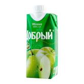Հյութ բնական «Добрый» խնձոր 330մլ