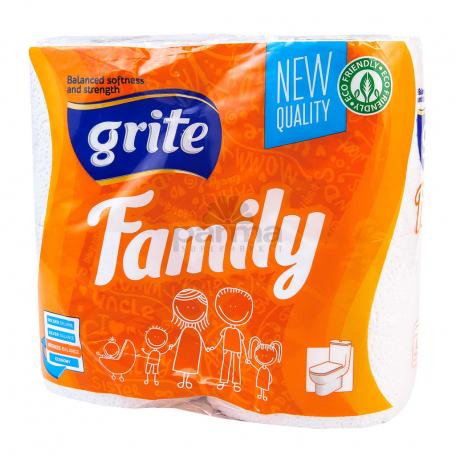 Զուգարանի թուղթ «Grite Family» 4 հատ