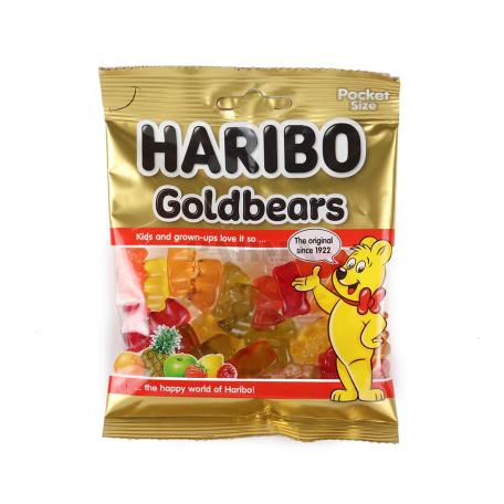 Դոնդողանման կոնֆետներ «Haribo Goldbears» 80գ