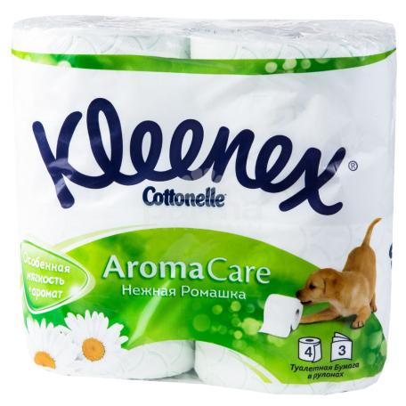 Զուգարանի թուղթ «Kleenex Aroma Care» 4 հատ
