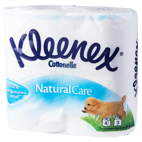 Զուգարանի թուղթ «Kleenex Natural Care» 4 հատ