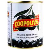 Ձիթապտուղ «Coopoliva» սև 850գ