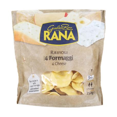 Ռավիոլի «Giovanni Rana» 4 տեսակի պանիր 250գ