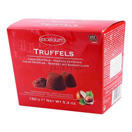 Շոկոլադե կոնֆետներ «Excelcium» պնդուկ 150գ