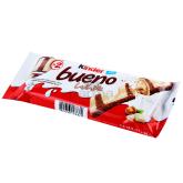Վաֆլի «Kinder Bueno» սպիտակ շոկոլադով 39գ