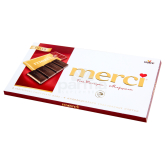 Շոկոլադե սալիկ «Merci» 112գ