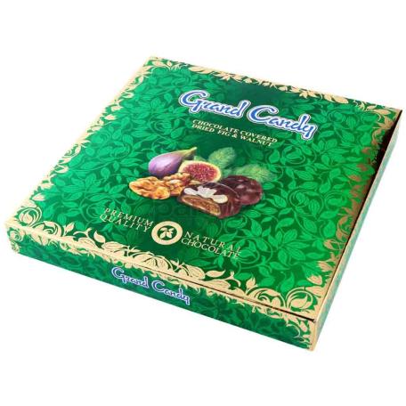 Շոկոլադե կոնֆետ «Գրանդ Քենդի» թուզ, ընկույզ 200գ