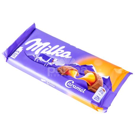 Շոկոլադե սալիկ «Milka» կարամել 100գ