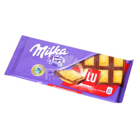 Շոկոլադե սալիկ «Milka LU» 87գ