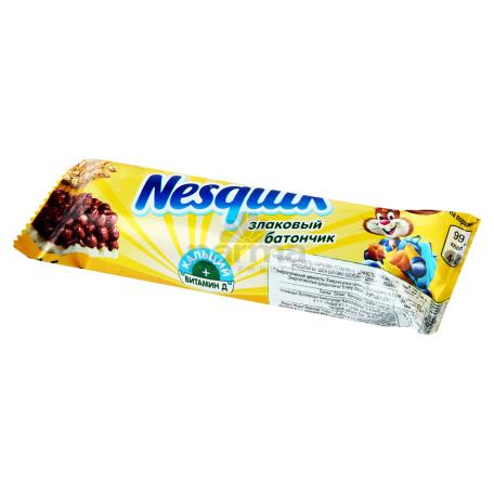 Շոկոլադե բատոն «Nesquik» հացահատիկով 25գ