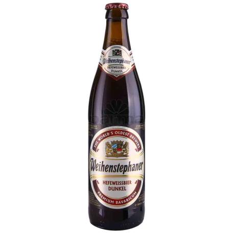 Գարեջուր «Weihenstephaner Hefeweissbier» մուգ 500մլ