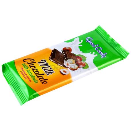 Շոկոլադե սալիկ «Գրանդ Քենդի» պնդուկ 90գ