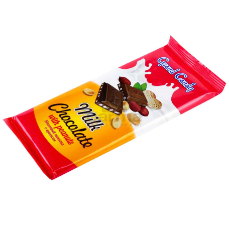Շոկոլադե սալիկ «Գրանդ Քենդի» գետնանուշ 90գ