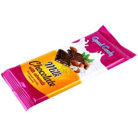 Շոկոլադե սալիկ «Գրանդ Քենդի» նուշ 90գ