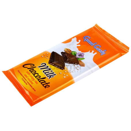 Շոկոլադե սալիկ «Գրանդ Քենդի» բրինձ, քունջութ 90գ