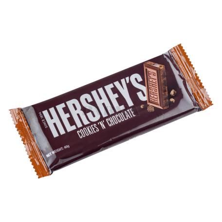 Շոկոլադե սալիկ «Hershey`s Cookies 'n' Chocolate» 40գ