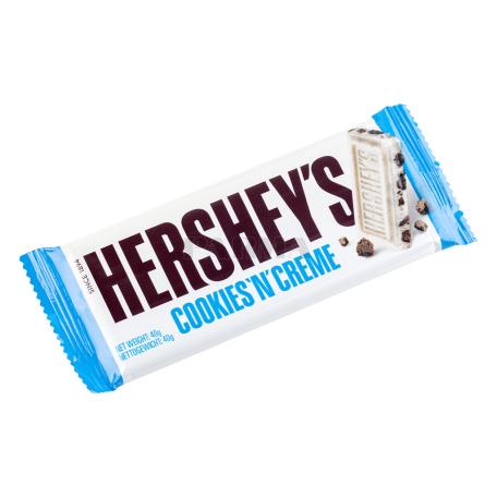 Շոկոլադե սալիկ «Hershey՝s Cookies 'n' Creme» 40գ