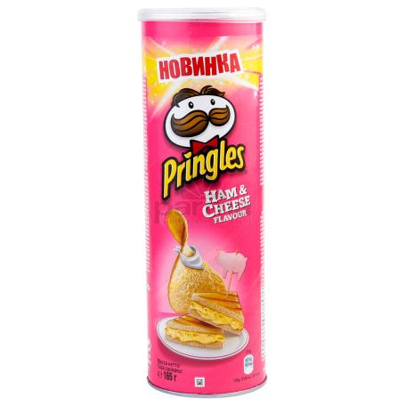 Չիպս «Pringles» խոզապուխտ, պանիր 165գ
