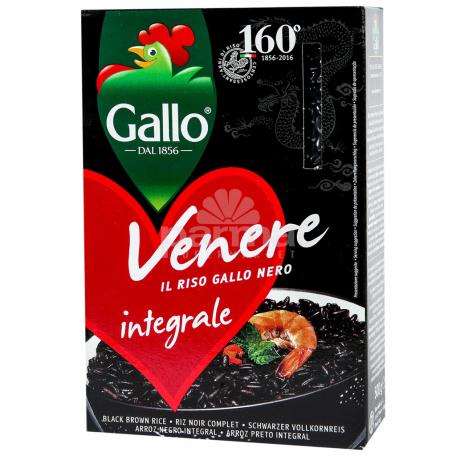 Բրինձ «Gallo Venere» սև 500գ