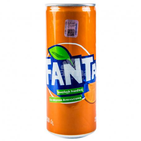 Զովացուցիչ ըմպելիք «Fanta» 250մլ