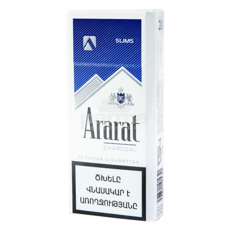Ծխախոտ «Ararat Charcoal Slims»