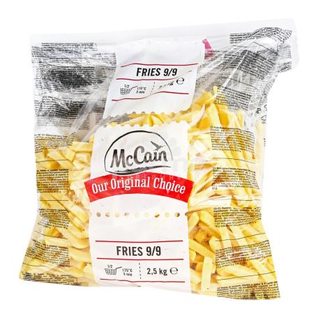 Կարտոֆիլ ֆրի սառեցված «McCain» 2.5կգ