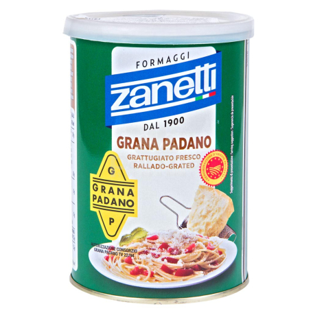 Պանրի քերուկ «Zanetti Grana Padano» 160գ