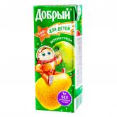 Հյութ բնական «Добрый» խնձոր, տանձ 200մլ