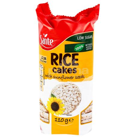Հացիկ «Sante Rice» արևածաղկով 110գ