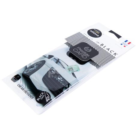 Ավտոմեքենայի բուրավետիչ «Aroma Premium Black»