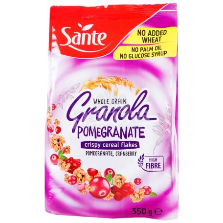 Փաթիլներ «Sante Granola» նուռ, հապալաս 350գ