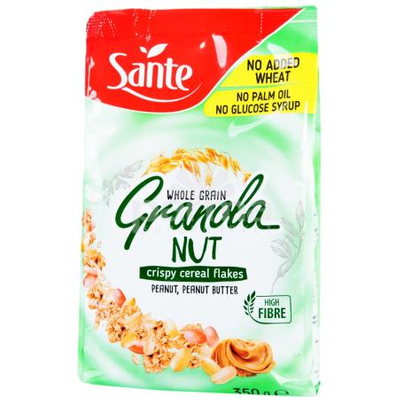 Փաթիլներ «Sante Granola» կոկոս, գետնանուշ 350գ