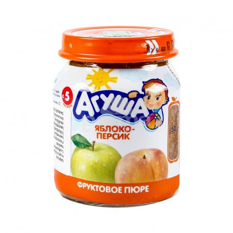 Խյուս «Агуша» խնձոր, դեղձ 115գ