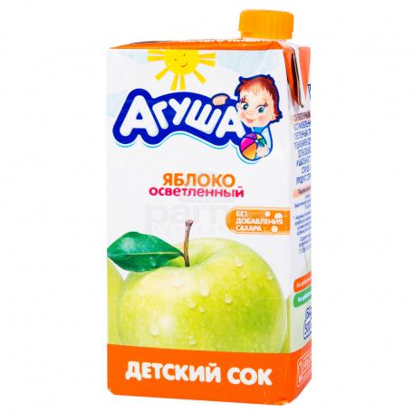 Հյութ բնական «Агуша» խնձոր 500մլ