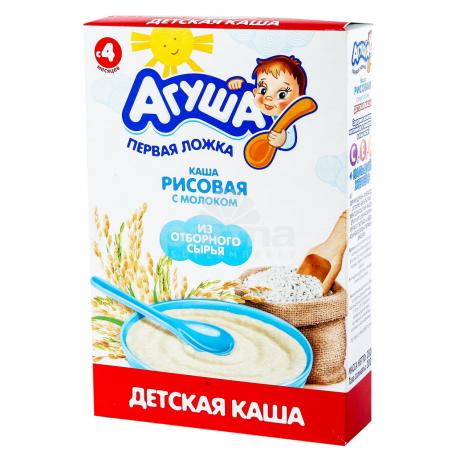 Շիլա «Агуша» բրինձ, կաթ 200գ