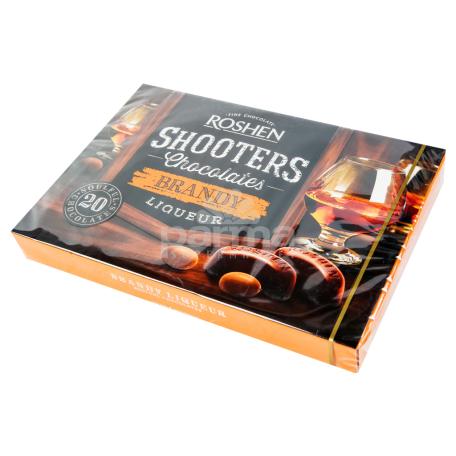 Շոկոլադե կոնֆետների հավաքածու «Roshen Shooters Brendi» 150գ